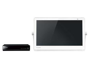 パナソニック Panasonic 15V型 HDDレコーダー付ポータブル地上・BS・110度CS ・・・