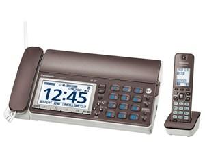パナソニック【おたっくす】デジタルコードレス普通紙ファクス KX-PD615DL-T(・・・