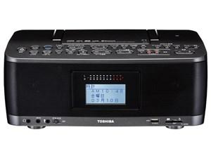 東芝 TOSHIBA ラジカセ Bluetooth対応 ガンメタリック TY-CWX90(KM)