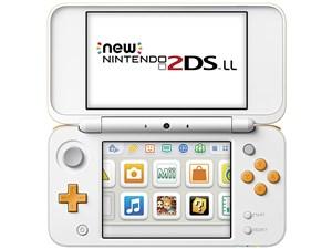 任天堂 New Nintendo 2DS LL ホワイト×オレンジ LLシリーズ最軽量 ニンテン・・・