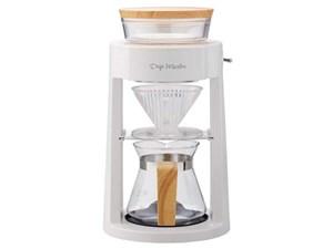 アピックス コーヒーメーカー APIX Drip Meister ホワイト ADM-200-WH