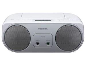 東芝【TOSHIBA】ワイドFM対応 ラジカセ・CDラジオ TY-C150-S(シルバー)★【TY・・・