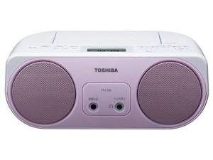 東芝【TOSHIBA】ワイドFM対応 ラジカセ・CDラジオ TY-C150-P(ピンク)★【TYC1・・・
