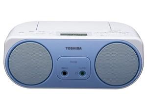 東芝【TOSHIBA】ワイドFM対応 ラジカセ・CDラジオ TY-C150-L(ブルー)★【TYC1・・・