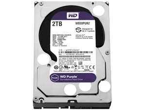 WesternDigital WD20PURZ [2TB SATA600 5400] 商品画像1:PC-IDEA