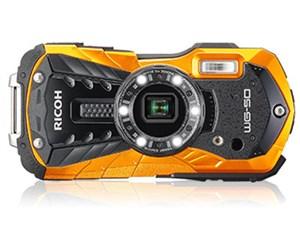 RICOH WG-50 [オレンジ] SDHCカード4GB差し上げます