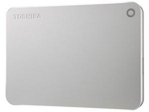 TOSHIBA PortableHD 1TB CANVIO PREMIUM HD-MB10TS シルバーメタリック