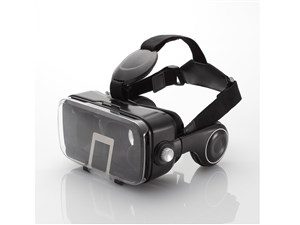 エレコム VRグラス(ヘッドホン一体型タイプ) P-VRGEH01BK