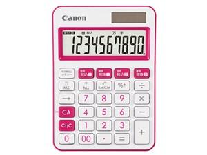 キヤノン 電卓 LS-105WUC PK LS-105WUC-PK 4549292094862