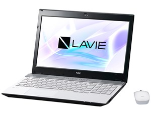 LAVIE Note Standard NS750/HAW PC-NS750HAW [クリスタルホワイト]