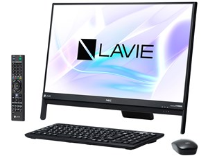 LAVIE Desk All-in-one DA370/HAB PC-DA370HAB [ファインブラック]