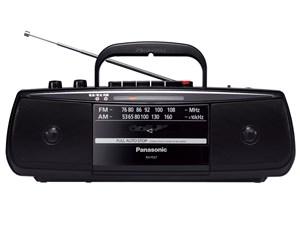 パナソニック  ステレオラジオカセットレコーダー RX-FS27-K ブラッ・・・