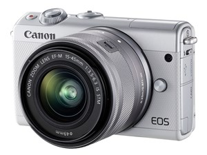 EOS M100 EF-M15-45 IS STM レンズキット [ホワイト]