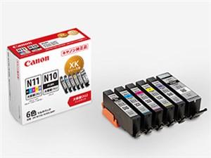 CANON インクタンク 6色マルチパック 大容量タイプ XKI-N11XL+N10XL/6MP