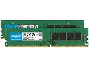 16GB Kit (8GBx2) DDR4 2400 MT/s (PC4-19200) CL17 SR x8 Unbuffered DIMM 2・・・
