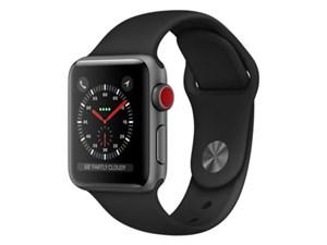 Apple Watch Series 3 GPS+Cellularモデル 38mm MQKG2J/A [ブラックスポーツ・・・