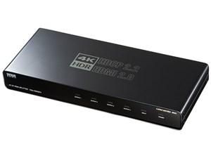 サンワサプライ 4K/60Hz・HDR対応HDMI分配器(4分配) VGA-HDRSP4