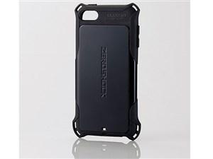 エレコム iPod Touch/ZEROSHOCKケース/ブラック AVA-T17ZEROBK