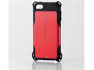 エレコム iPod Touch/ZEROSHOCKケース/レッド AVA-T17ZERORD