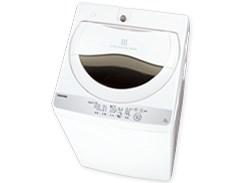東芝 全自動洗濯機 5kg グランホワイト AW-5G6-W