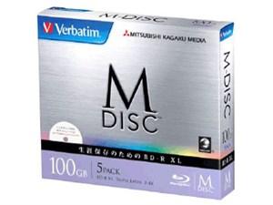 Verbatim DBR100YMDP5V1 [BD-R XL 4倍速 5枚組]
