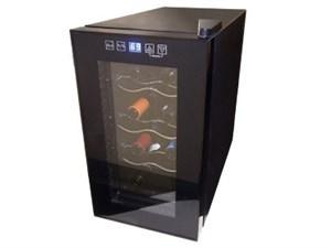 Sun Ruck 電子式ワインセラー ペルチェ式 8本収納 SR-W208K