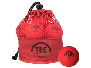 TOBIEMON T-MRE ゴルフボール 2017年モデル [蛍光マットレッド]