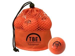 TOBIEMON TBM-2MBO ゴルフボール 2017年モデル [オレンジ]