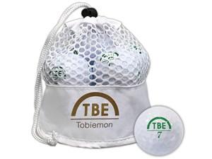 TOBIEMON TBM-2MBW ゴルフボール 2017年モデル ホワイト