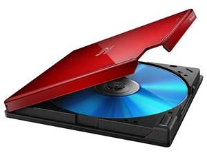 パイオニア RoHS準拠 USB3.0外付ポータブルBD/DVDライター ワインレッド BDR-・・・