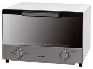 アイリスオーヤマ【IRIS】ミラーオーブントースター 食パン4枚焼き MOT-013-W・・・