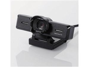 エレコム PCカメラ/800万画素/ステレオマイク内蔵/高精細ガラスレンズ/レンズ・・・