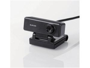エレコム PCカメラ/100万画素/マイク内蔵/高精細ガラスレンズ/ブラック UCAM-・・・