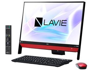 LAVIE Desk All-in-one DA370/KAR PC-DA370KAR [ラズベリーレッド] 通常配送・・・