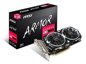 MSI製グラボ Radeon RX 570 ARMOR 8G OC PCIExp 8GB