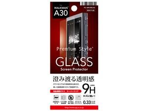 PGA WALKMAN A30用 液晶保護ガラス スーパークリア PG-WMA30GL01 1枚入 45623・・・