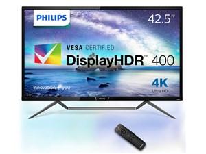 フィリップス【PHILIPS】42.5型 HDR 400 対応 4K2K 液晶ディスプレイ 436M6VB・・・