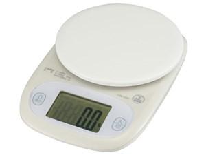 オーム電機 クッキングスケール 3kg計 COK-S302-G