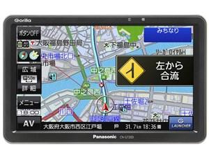 パナソニック ポータブルカーナビ ゴリラ CN-G720D 7インチ ワンセグ SSD16GB・・・