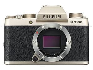 FUJIFILM X-T100 ボディ [シャンパンゴールド]