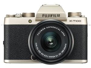 FUJIFILM X-T100 レンズキット [シャンパンゴールド]