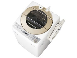 シャープ【SHARP】洗濯9.0kg 全自動洗濯機 ES-GV9C-N(ゴールド系)★【ESGV9CN・・・