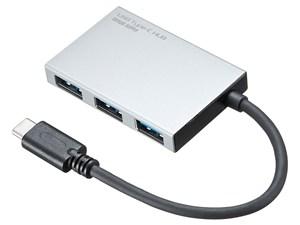 サンワサプライ USBTypeCスリムハブ(4ポート) USB-3TCH9S