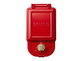 BRUNO ホットサンドメーカー シングル BOE043-RD [レッド]