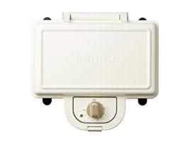 BRUNO ホットサンドメーカー ダブル BOE044-WH [ホワイト]