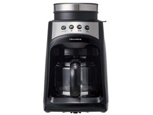 レコルト グラインド&ドリップコーヒーメーカーフィーカ ブラック RGD-1(BK)