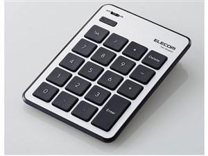 エレコム Bluetoothテンキーパッド/パンタグラフ/macOS対応/薄型/シルバー TK・・・