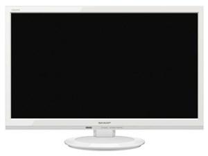シャープ【SHARP】22V型 液晶テレビ AQUOS ADライン 2T-C22AD-W(ホワイト系)・・・
