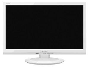 SHARP 19V型 液晶テレビ AQUOS 2T-C19AD-W ホワイト