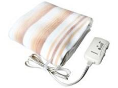 MORITA 電気敷毛布 シングルサイズ 140×80cm 洗える 敷き毛布 MB-S14KS